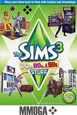 Die Sims 3: 70er, 80er & 90er Accessoires Origin PC DIGITAL Code[DE][EU][Add-on]