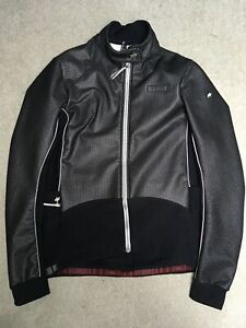 Used Black Assos 851 Airblock Winter Cycling Jacket Size Large