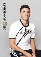 Jonas HECTOR - DFB-Nationalspieler, DFB-Karte EM 2016, Original-Autogramm!