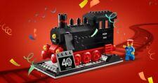 LEGO 40370 40th ANNIVERSARY STEAM TRAIN SET NEW IN SEALED BOX