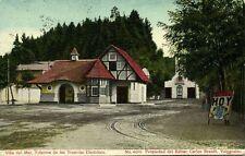 chile, VINA DEL MAR, Estacion de los Tranvias Electricos, Station (1910)