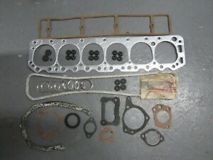 54-59 Ford 6-223 Engine Overhaul Gasket Set BOWMAN 25206