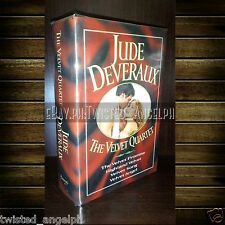 Book: The Velvet Quartet by Jude Deveraux [Hardcover - Collector's Item]