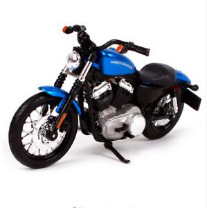 Maisto 1:18 Harley Davidson 2012 XL 1200N Nightster Motorcycle Model NEW IN BOX