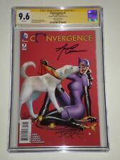 Convergence 7 (DC, July 2015) CGC Graded 9.6 Signed by Amanda Conner