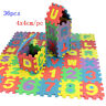 36pcs Soft Eva Foam Baby Play Floor Mat Alphabet Numbers Kids DIY Puzzle Jigsaw