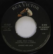 Rockabilly 45 Johnnie And Jack - Camel Walk Stroll / Stop The World On Rca Victo