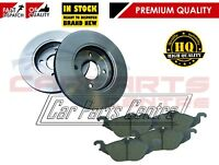 FOR VAUXHALL ASTRA G 1.4 1.6 1.7 TD FRONT 256mm VENTED BRAKE DISC DISCS PAD PADS