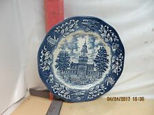 Avon Bicentennial Plate , Made By Enoch Wedgwood In England - No Damage!
