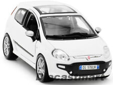 BbURAGO 1:24 FIAT PUNTO EVO NEW DIECAST MODEL CAR WHITE