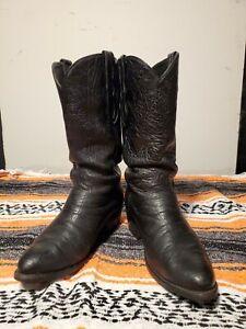 Loveless Full Elephant Handmade Custom Boots sz 10D