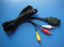1.8m 6FT AV TV RCA Video Cable for Nintendo SNES / GameCube / N64 64 Super Cord