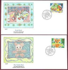 Great Britain FDC, Fleetwood Set of 2, 1989