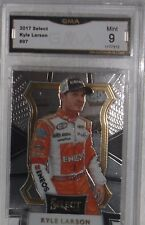 2017 PANINI SELECT KYLE LARSON MINT 9 BY GMA GREAT LOOKING CARD FREE SHIPPING
