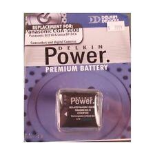 Batería Delkin para Panasonic Lumix DMC-FX30, DMC-FX33, DMC-FX55