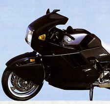 1991 BMW K1 MOTORCYCLE BROCHURE -BMW K1 MOTORCYCLE