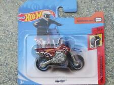 Hot Wheels 2018 #000/365 HW450F bike red blue like kawasaki Daredevils CaseP
