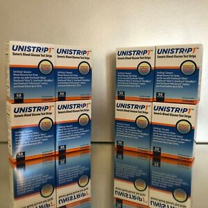 Unistrip 1 Blood Glucose Test Strips 400 Qty.  Exp 12/2021. Free shipping