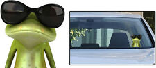 """Van Lorry Window sticker 3D  Frog   Decal """"You Followin Me"""" Graphics 8 inches"""