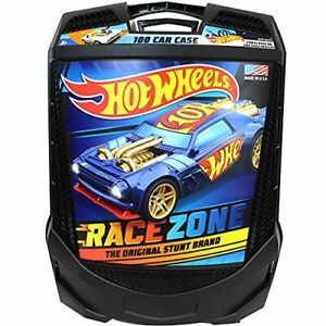 Hot Wheels 100 Car Rolling Storage Case with Retractable Handle -