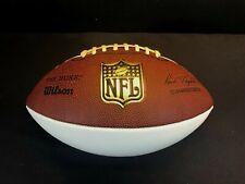 "Vtg Autograph Model Wilson ""The Duke"" NFL Football - Paul Tagliabue"