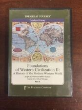 Foundations of Western Civilization II : A History of... Part 4 Audio 6 CD's Set