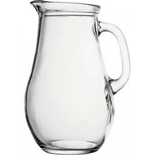6x Bistro Jug 1Litre, Water, Juice, Serving, Restaurants, Home