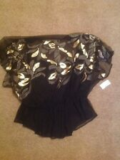 Dress Barn BNWT Bling Top Ladies 1x With Cami