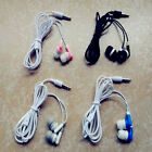 Lot 4X in-ear Headset Earphone Headphone Earbuds 3.5mm For Mobile phone Mp3 Mp4