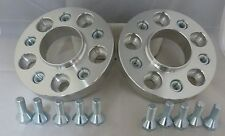 VW Fox 2005-2011 5x100 25mm ALLOY Hubcentric Wheel Spacers 1 pair