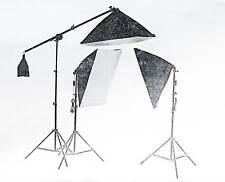 Studioleuchte 3x Lampenstativ  Fotostudio Set  (GT624S9)