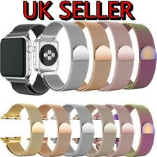 For Apple Watch Strap Series SE 6/5/4 Magnetic Milanese Loop Band 38/40/42/44mm