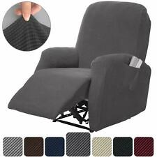 4 Pieces Recliner Cover Lazy Boy Stretch Recliner Slipcover Couch Chair Cover