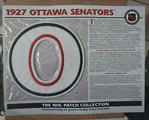 1927 OTTAWA SENATORS Willabee Ward NHL Throwback Hockey Team Logo Patch Card