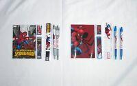 Marvel Spider-Man Stationery Pen Pencil Notebook Ruler Eraser Lead Party Fillers