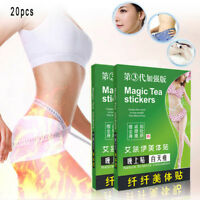 20pcs slimming patch weight loss cellulite fat burn detox slim adhesive belly TR