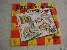 """Vintage Vinyl Record 12"""" LP MUSICAL SCRAPBOOK OF GERMANY VOL. 1 TELEFUNKEN NM"""