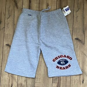 Vintage 80's BIKE Chicago Bears NFL Sweat Shorts Adult Small Made in USA 50/50