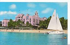 America Postcard - Royal Hawaiian Hotel - On The Beach at Waikiki   A5672