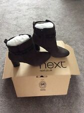 High Heel (3-4.5 in.) Ankle Suede Shoes NEXT for Women