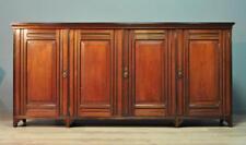 Attractive Large Antique Arts & Crafts Four Door Walnut Sideboard Cabinet