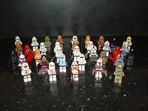 Lego Genuine - Star Wars Clone Troopers / Mini Figure - Multiple Variations!