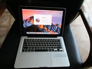 MacBook Pro Laptop 2.5Ghz Core i5, 500 GB HDD, CS5, Sierra, OFFICE, Garage Band