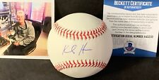 Kody Hoese Los Angeles Dodgers Autographed Signed Baseball BECKETT ROOKIE COA 1