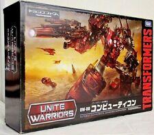 Transformers Unite Warriors UW08 Computron Takara Tomy Action Figure NEW