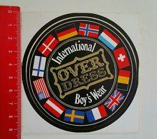 Aufkleber/Sticker: Over Dress Boy's Wear (0806167)