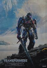 TRANSFORMERS 5 - A3 Poster (ca. 42 x 28 cm) - Film The last Knight Clippings NEU