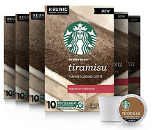 Starbucks 60 Count Tiramisu Flavored Keurig K Cups Best Before 11/2020