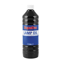 Lamp Oil For Modern & Traditional Oil Lamps 1 Litre Superdec NEW