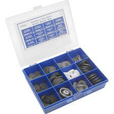 NEW Ballvalve Repair Kit Box Each rubber ball valve washers, cotter pins, 84 pc